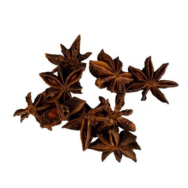 一小堆八角茴香做菜调味品香料8133452png图片免抠素材