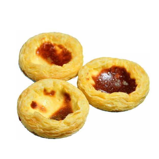 三个美味的蛋挞美食2253157png图片免抠素材