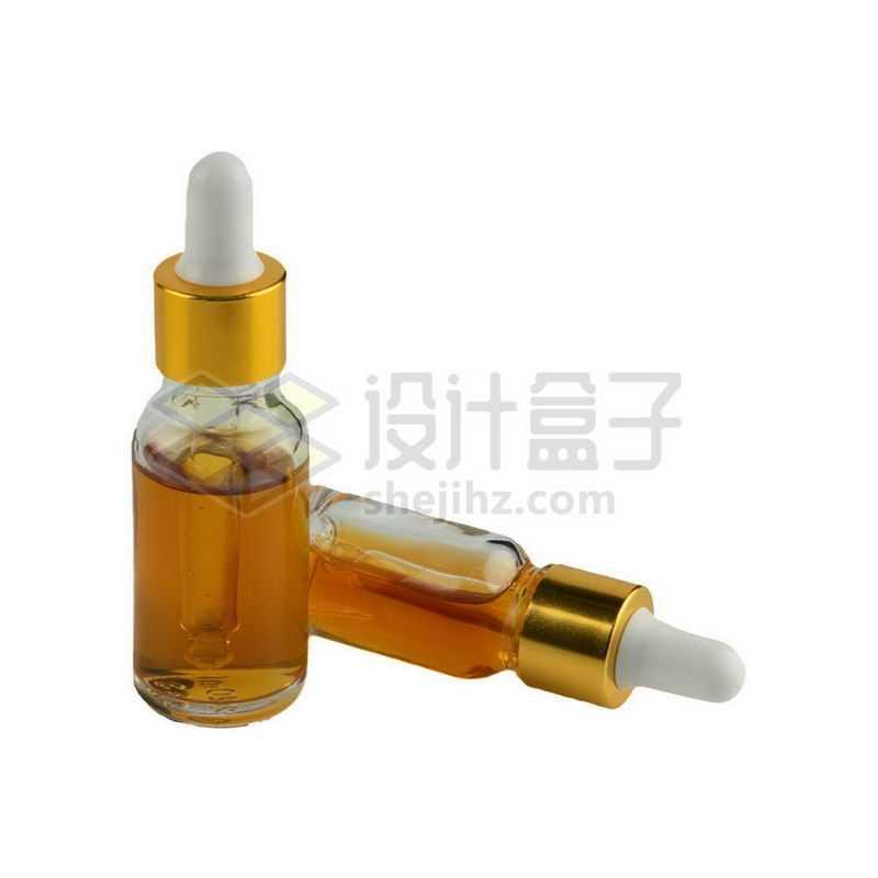 两款棕色玻璃滴管瓶避光分装小瓶精油瓶等化学实验仪器8167970png图片免抠素材