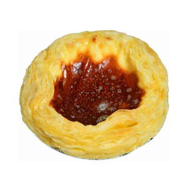 一个美味的蛋挞美食9260684png图片免抠素材