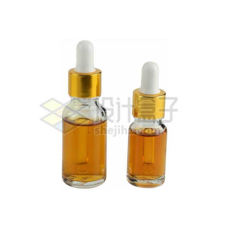 两款玻璃滴管瓶避光分装小瓶精油瓶等化学实验仪器1246373png图片免抠素材