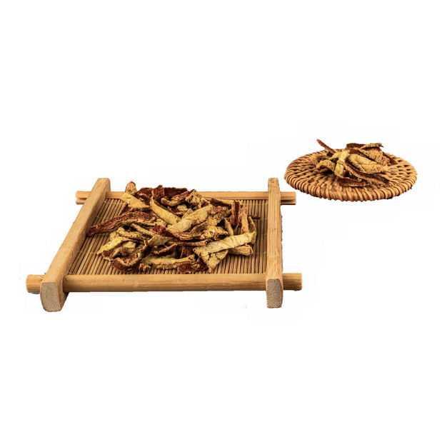 木头盘子上的陈皮调味品香料9100937png图片免抠素材