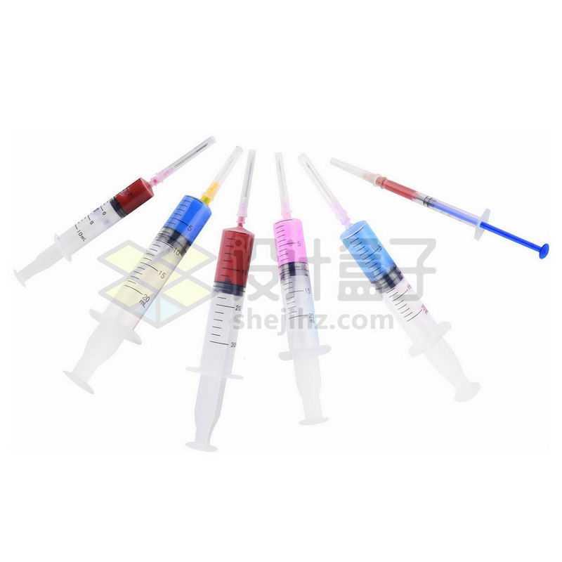 各种规格一次性注射器橡胶圈针筒9522940png图片免抠素材
