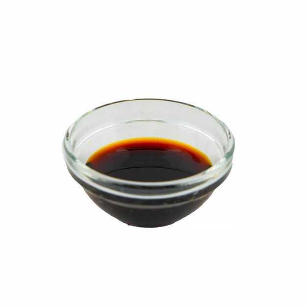 透明小碗中的酱油调味品976147png图片免抠素材