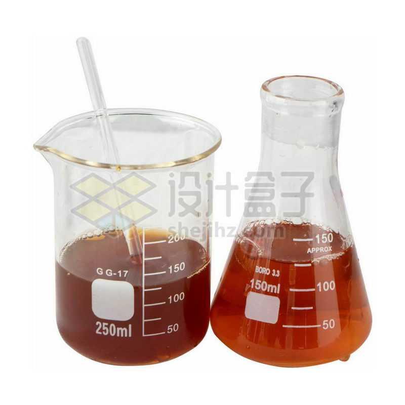 烧杯锥形烧瓶和玻璃棒等化学实验仪器1627664png图片免抠素材