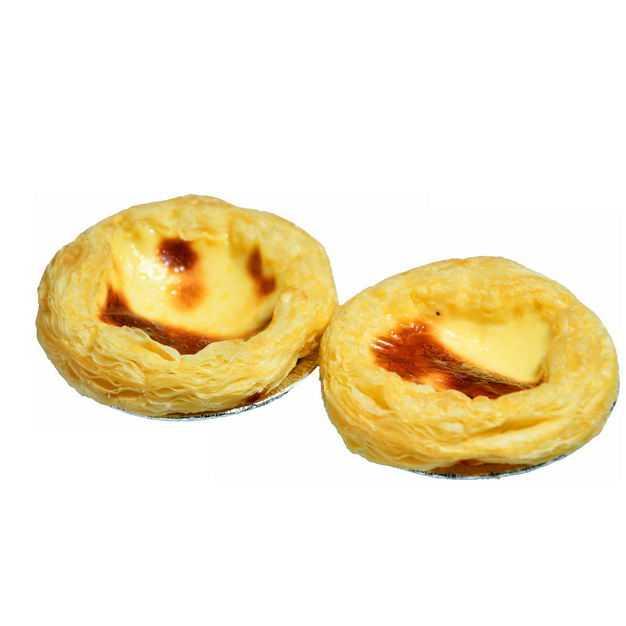 两个美味的蛋挞美食4590876png图片免抠素材