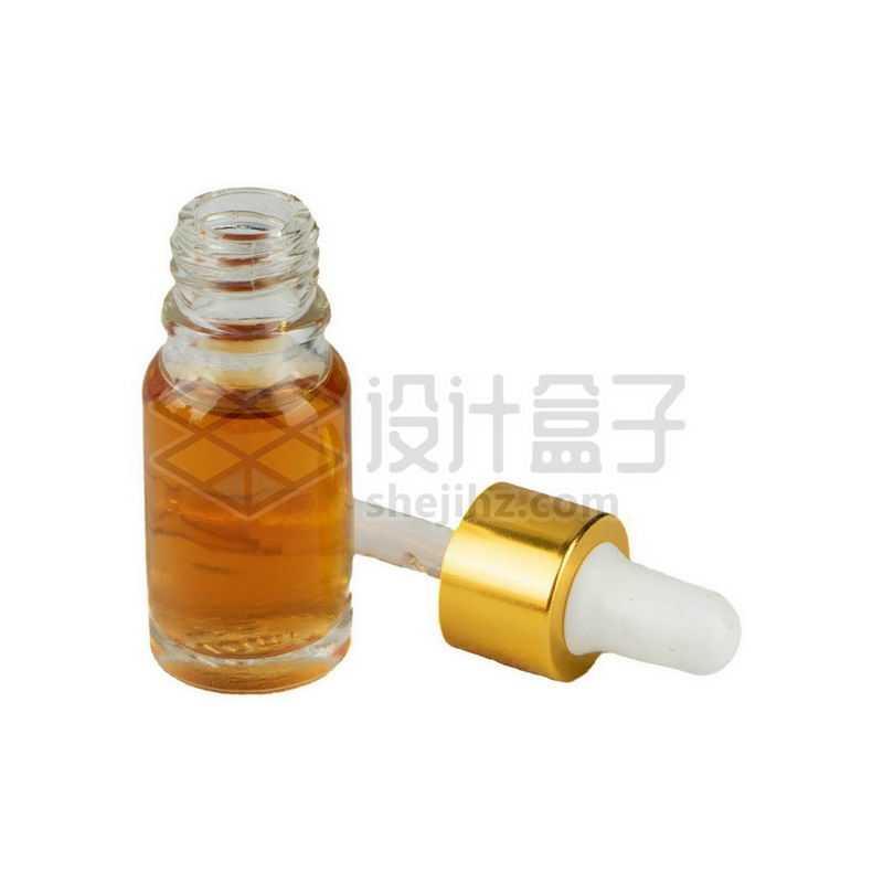 玻璃滴管瓶避光分装小瓶精油瓶等化学实验仪器7847529png图片免抠素材