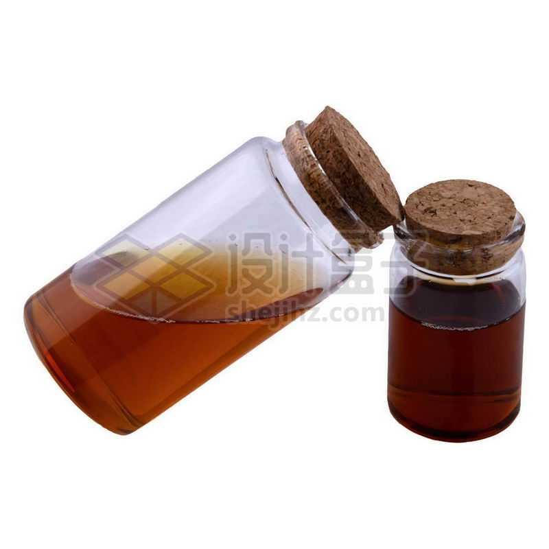 两款玻璃瓶避光分装小瓶等化学实验仪器7694974png图片免抠素材