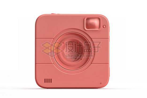 3D立体粉色照相机拍照模型6491273图片免抠素材