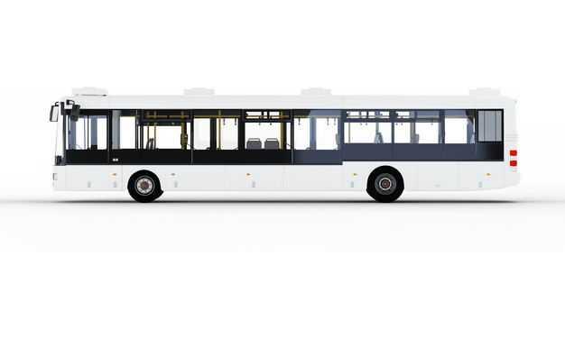 公交车侧视图车上样机图案8380948PSD图片素材
