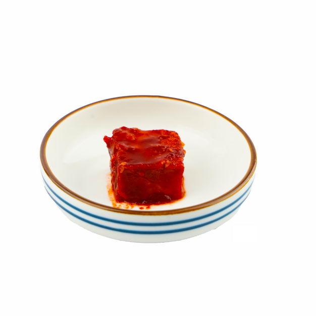 碗中的一块豆腐乳922394png图片免抠素材 生活素材-第1张