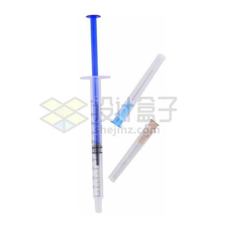 皮试注射器针筒和针头医疗用品6737723png图片免抠素材