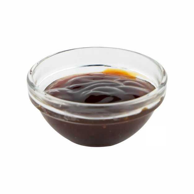 玻璃小碗中的蚝油调味品686194png图片免抠素材