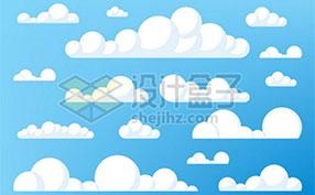 卡通云朵图片素材