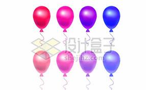 彩色气球图片素材