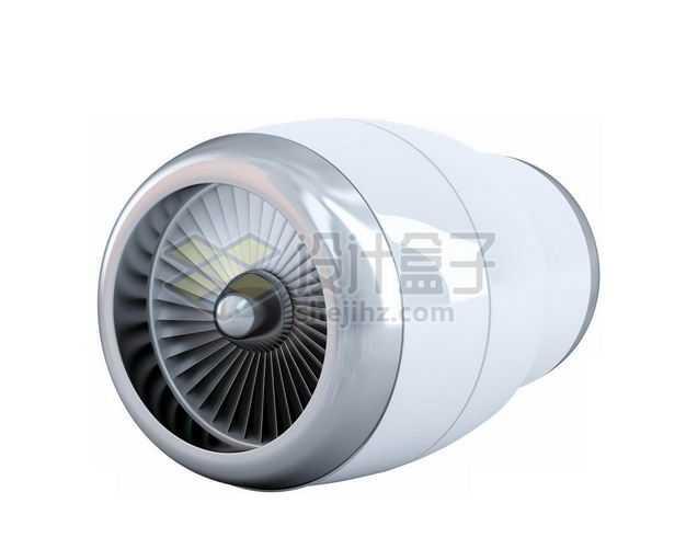 3D立体飞机发动机涡扇喷气式发动机模型2431871图片免抠素材