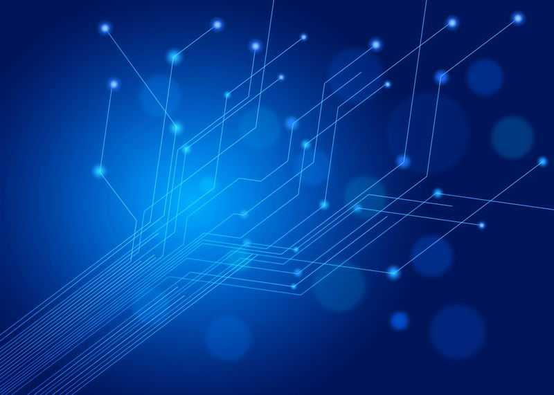蓝色电路线条科技风格背景图7209021图片素材
