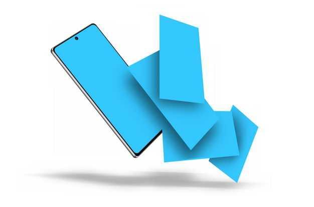 全面屏手机显示界面展示样机3918623免抠图片素材