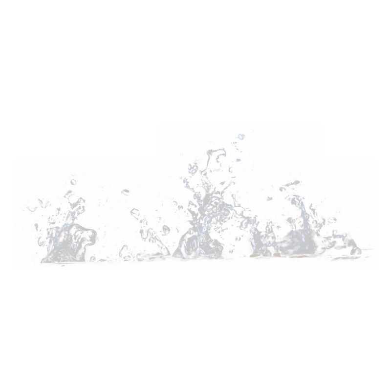 飞溅起来的半透明水花浪花水效果9180700png图片免抠素材