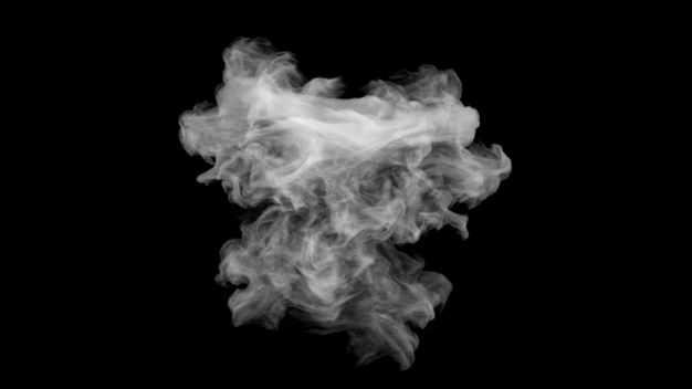 翻滚的烟雾浓烟白烟效果871664png图片免抠素材
