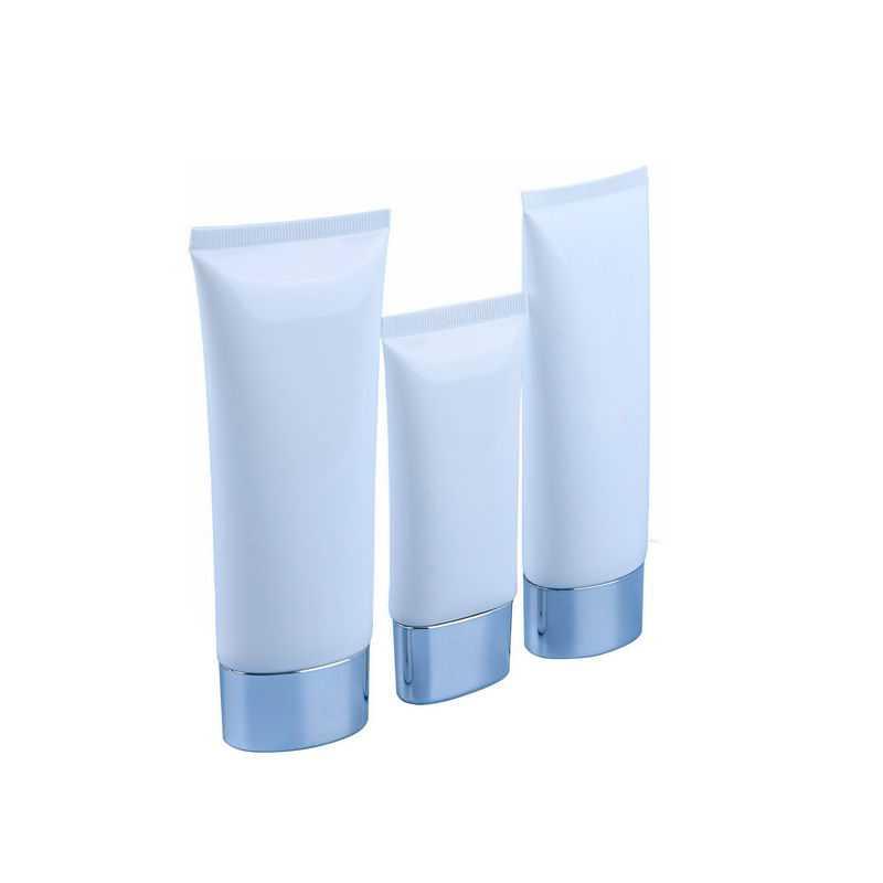 三种空白包装的洗面奶护手霜化妆品瓶子1347714png图片免抠素材