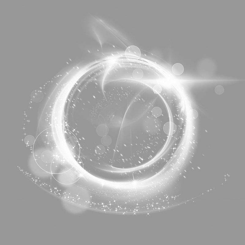 白色的螺旋发光光芒效果3473097png图片免抠素材