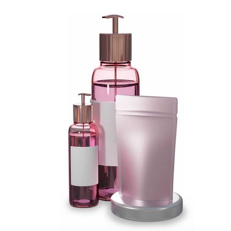 各种粉色的精华液护肤品化妆品6361693图片免抠素材
