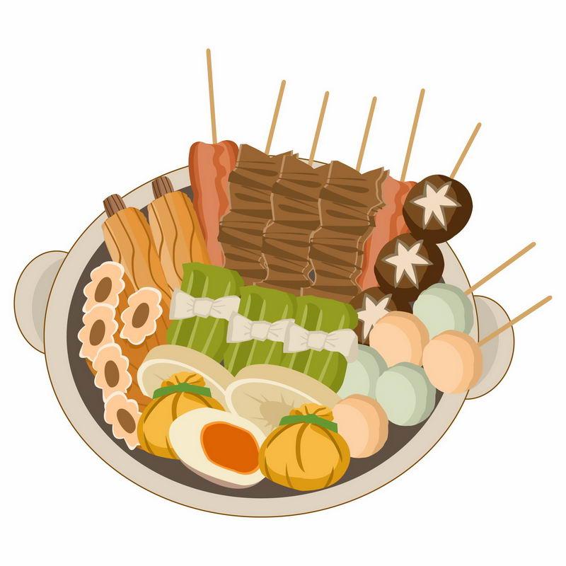 一锅关东煮美味美食4680579图片免抠素材 生活素材-第1张