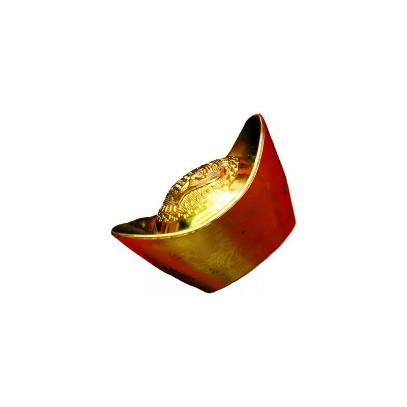 一块金元宝新年春节1306998png图片免抠素材 节日素材-第1张