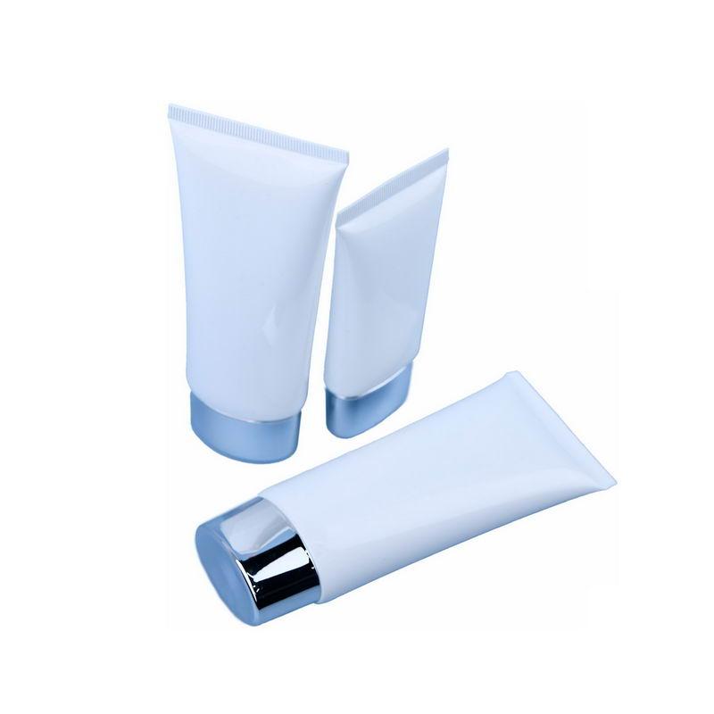 三种空白包装的洗面奶护手霜化妆品瓶子4012383png图片免抠素材 生活素材-第1张