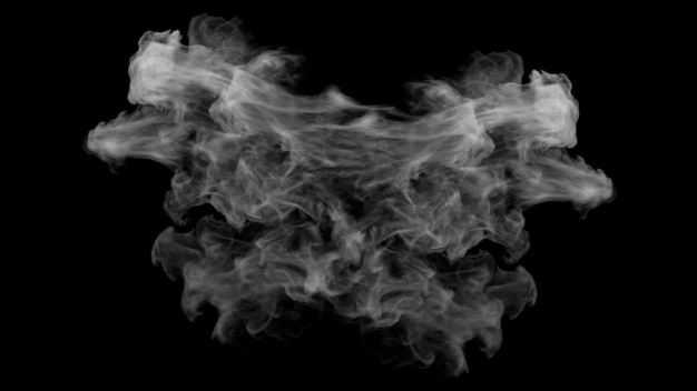翻滚的烟雾浓烟白烟效果296524png图片免抠素材