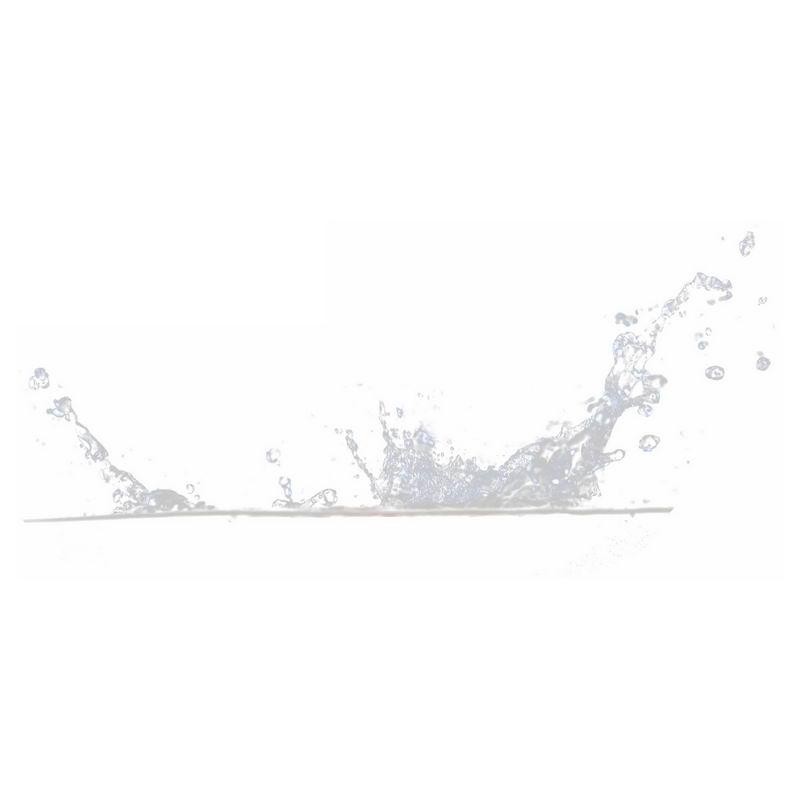 飞溅起来的半透明水花浪花水效果8582649png图片免抠素材 效果元素-第1张