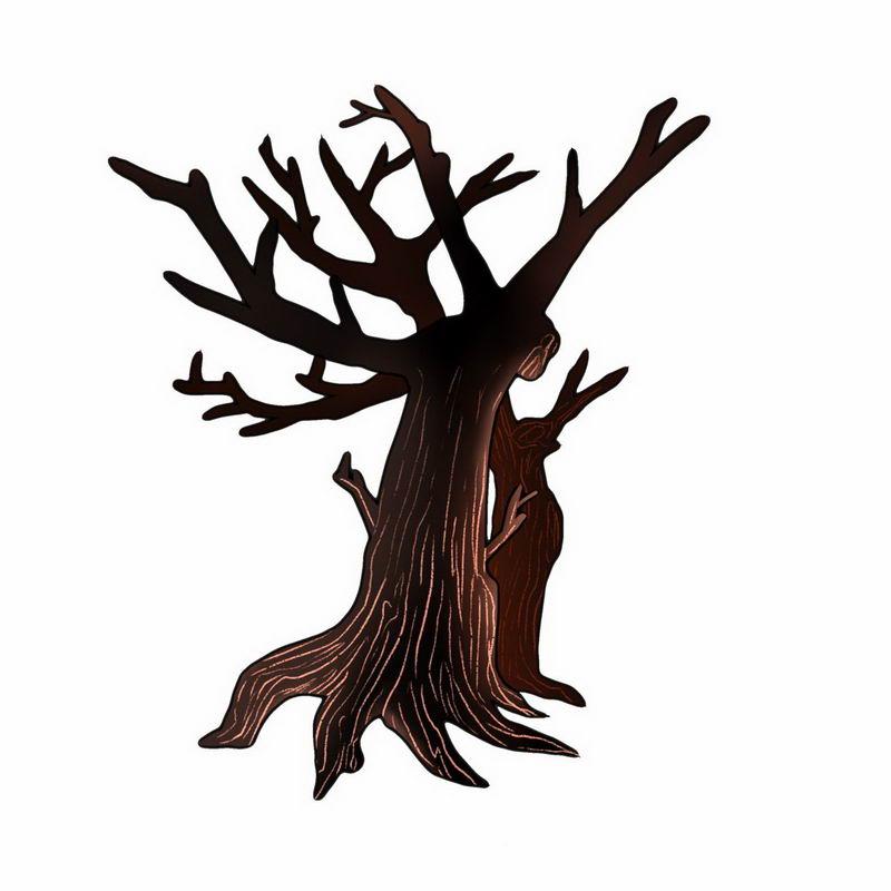 手绘风格卡通干枯大树6051779png图片免抠素材 生物自然-第1张