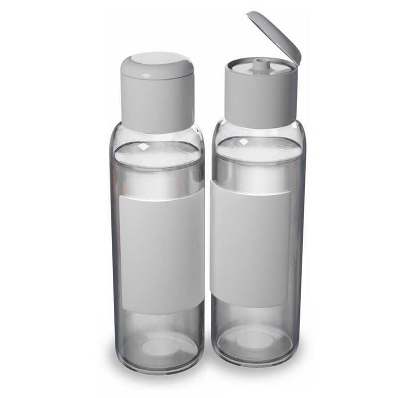 打开的2款空白包装的香水瓶子精华液瓶子8983939图片免抠素材