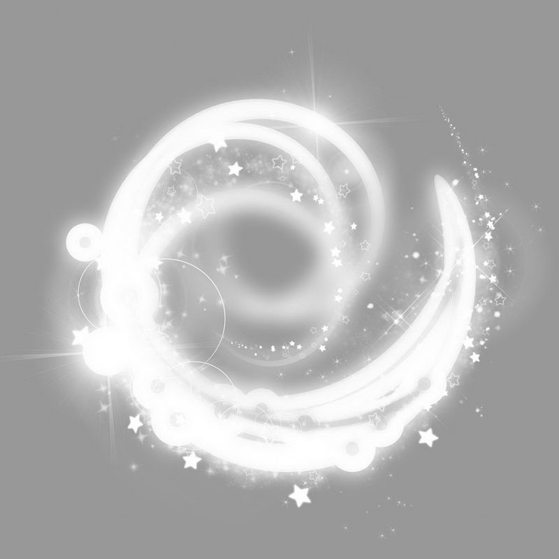 白色的螺旋发光光芒效果1979540png图片免抠素材 效果元素-第1张