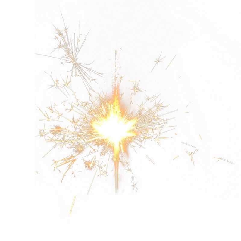 闪闪发亮的仙女棒钢丝棉烟花手持烟花电光花闪光效果6904506png图片免抠素材