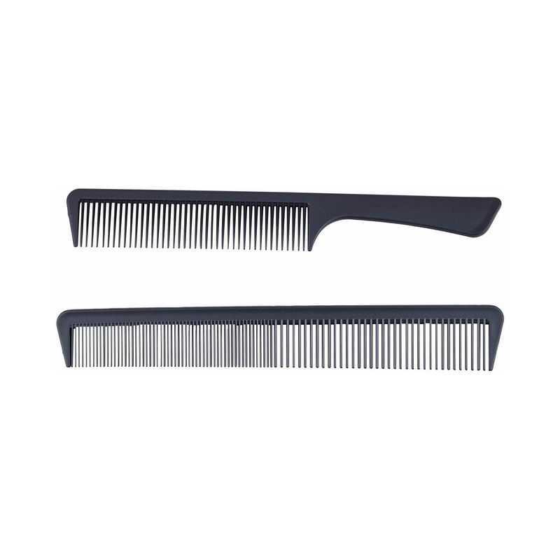 两把理发梳子挑发梳密齿梳美发梳等2615359png图片免抠素材
