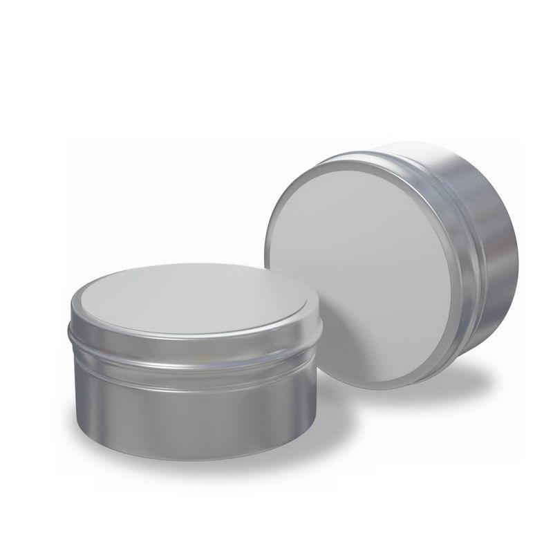 2款空白包装的化妆品金属材质的铝盒子9365005图片免抠素材 生活素材-第1张