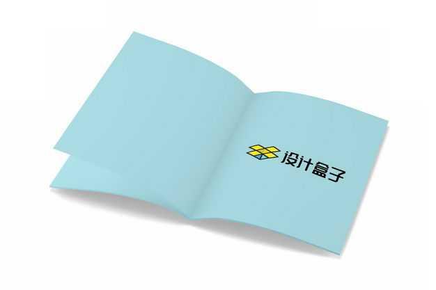 打开的杂志书本内页显示样机3917603图片素材