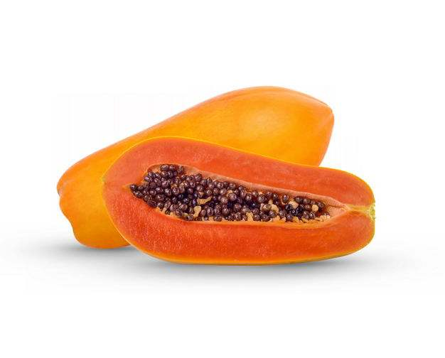 切开的番木瓜美味水果3496248免抠图片素材
