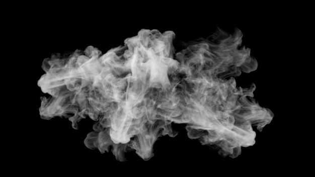 翻滚的烟雾浓烟白烟效果564913png图片免抠素材