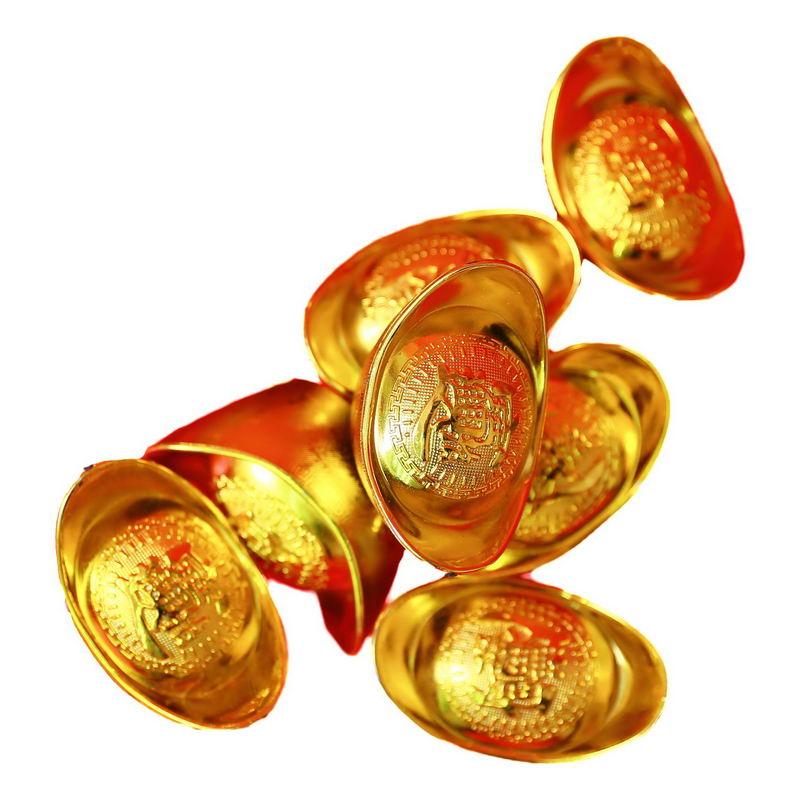 一大堆金元宝新年春节元宝装饰2072980png图片免抠素材 节日素材-第1张