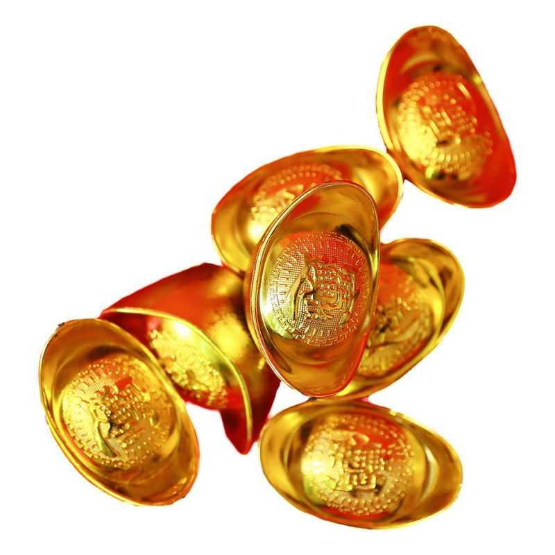 一大堆金元宝新年春节元宝装饰2072980png图片免抠素材