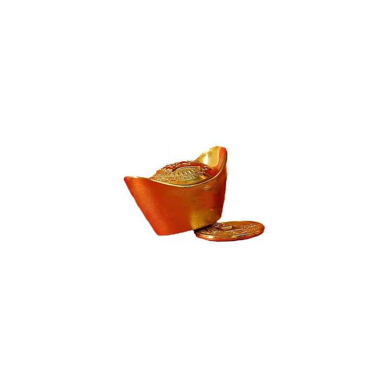 金元宝和金币新年春节装饰5680762png图片免抠素材