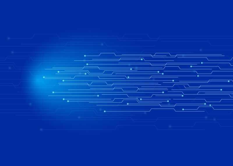 蓝色电路线条科技风格背景图1497914图片素材