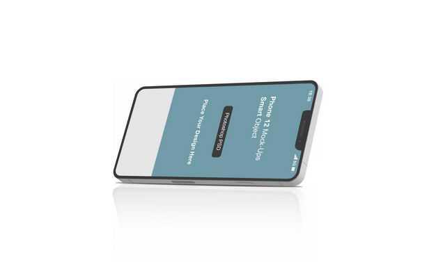 苹果手机iPhone12显示样机6588936免抠图片素材