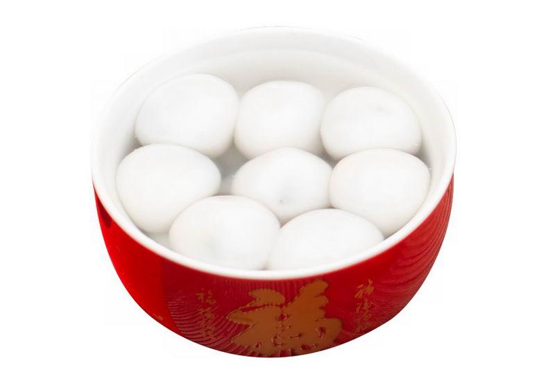 正月十五元宵节的一碗汤圆传统美食7048546png图片免抠素材 生活素材-第1张