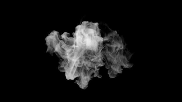 翻滚的烟雾浓烟白烟效果996971png图片免抠素材