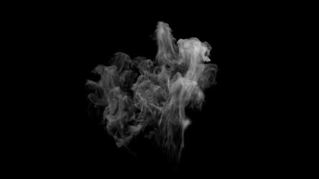 翻滚的烟雾浓烟白烟效果856492png图片免抠素材