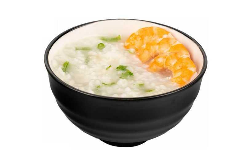 一碗大虾鲜虾米粥白粥美味美食2669227png图片免抠素材